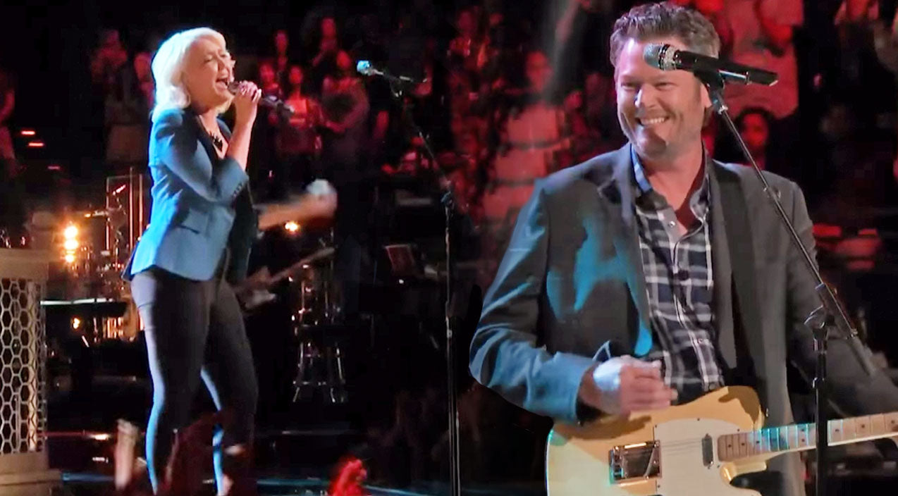 Meghan Linsey and Blake Shelton Team Up For Amazing Rendition of