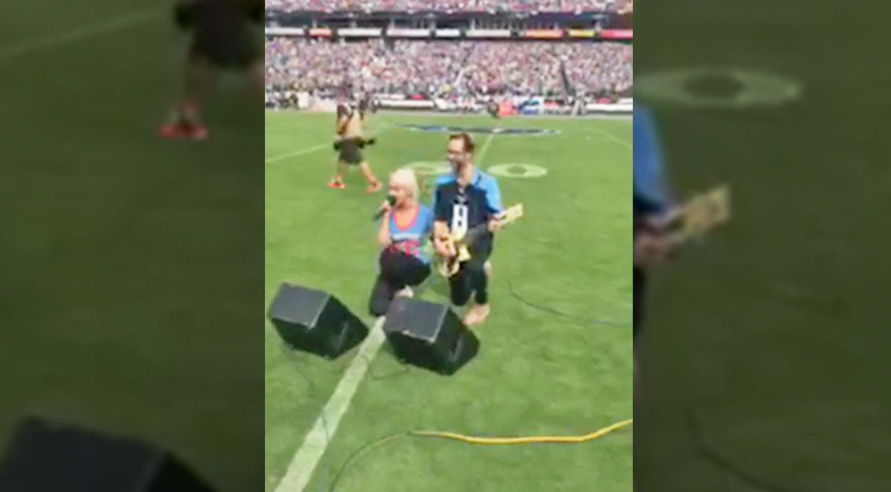 Meghan linsey Songs | Country Singer Speaks Out About Decision to Kneel After National Anthem Performance | Country Music Videos