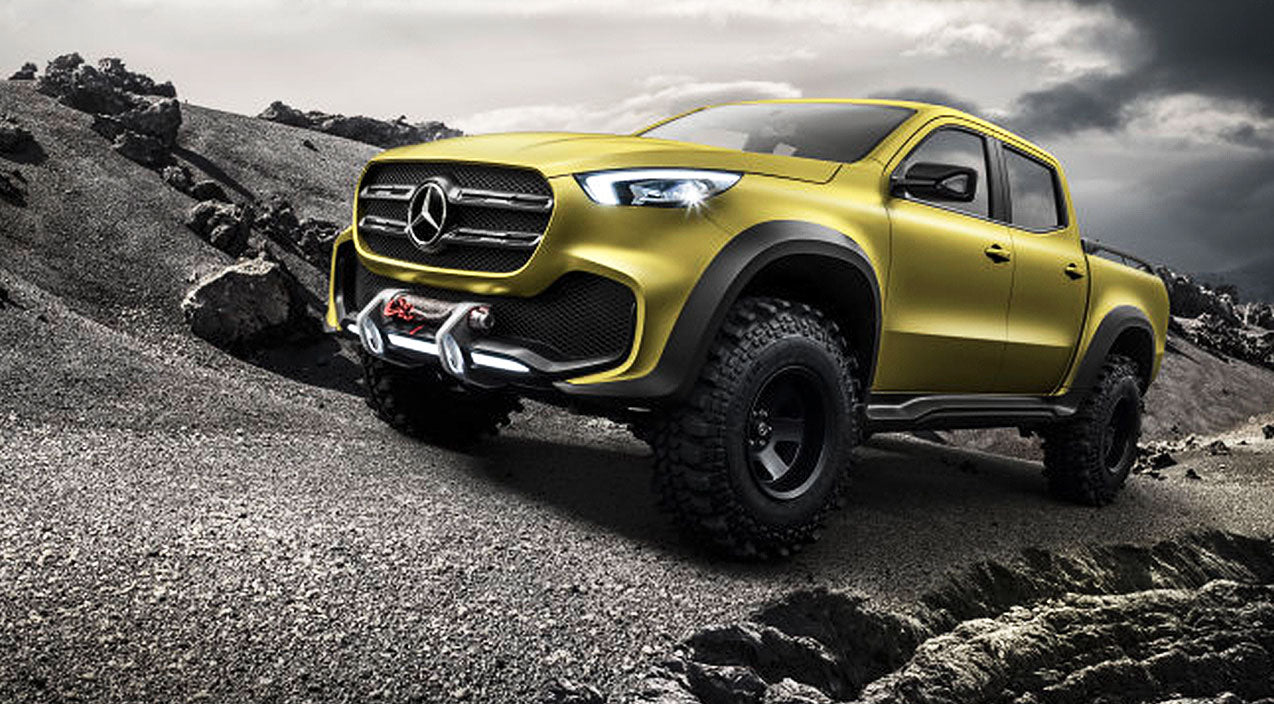 [5 Photos] Mercedes-Benz Pickup Truck Unveiled | Country Music Videos