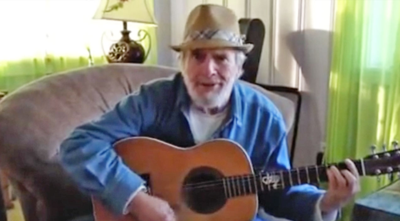 Merle haggard Songs   Rare Home Video Of Merle Haggard Performing A Country Classic Will Make You Miss Him   Country Music Videos