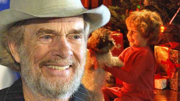 Merle haggard Songs | Merle Haggard - Bobby Wants A Puppy Dog For Christmas (WATCH) | Country Music Videos