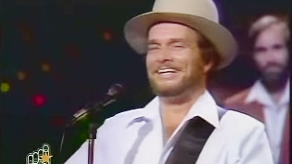 Merle Haggard - Are The Good Times Really Over | Country Music Videos
