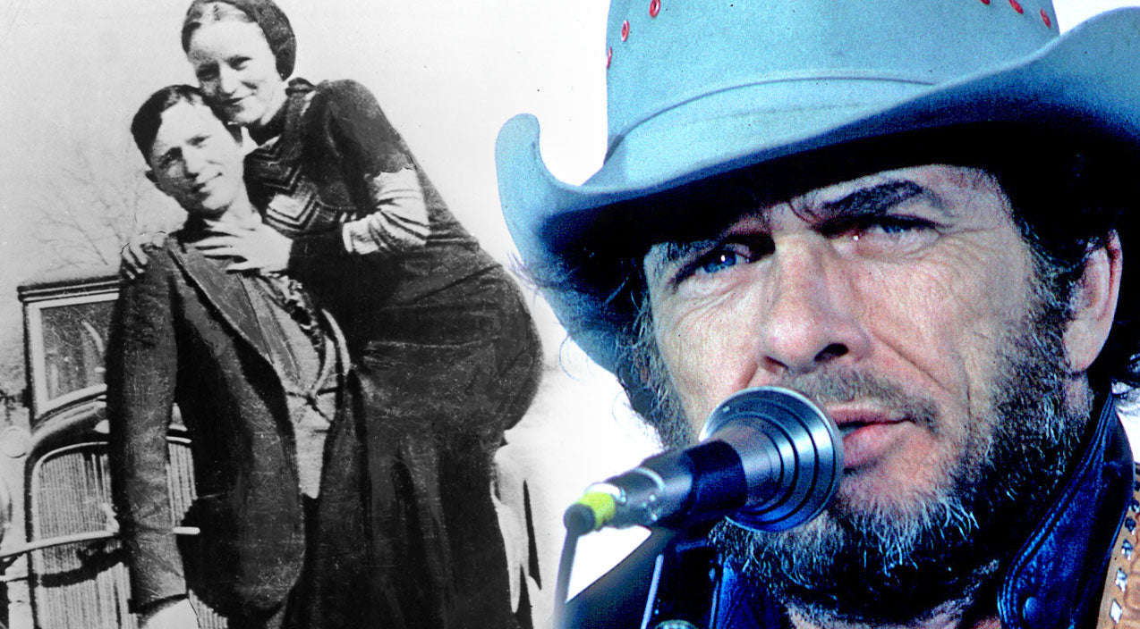 Merle haggard Songs | Merle Haggard's 'The Legend of Bonnie and Clyde' Will Keep Y'all On The Edge Of Your Seats (WATCH) | Country Music Videos