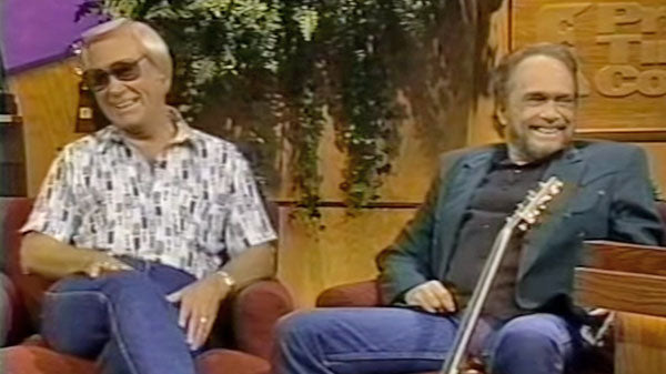 Merle haggard Songs | George Jones Surprises Merle Haggard (Interview) | Country Music Videos