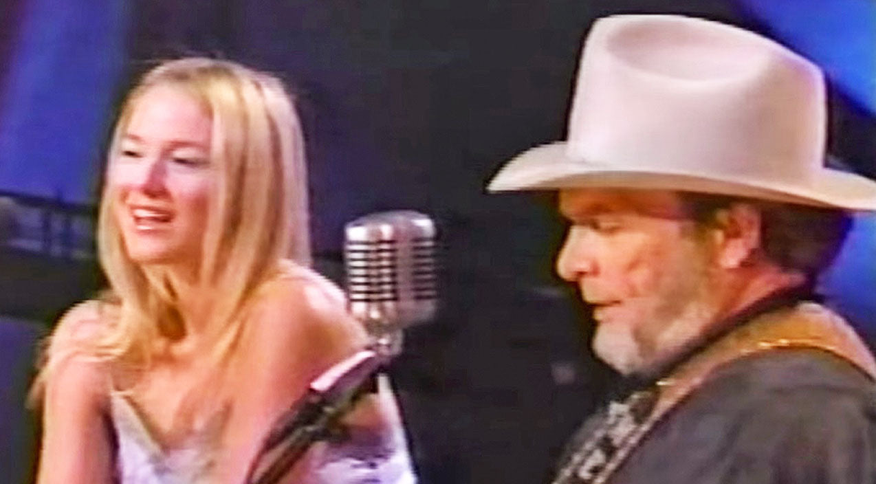 Merle haggard Songs | Merle Haggard & Jewel Wow In Passionate Performance Of 'Silver Wings' | Country Music Videos