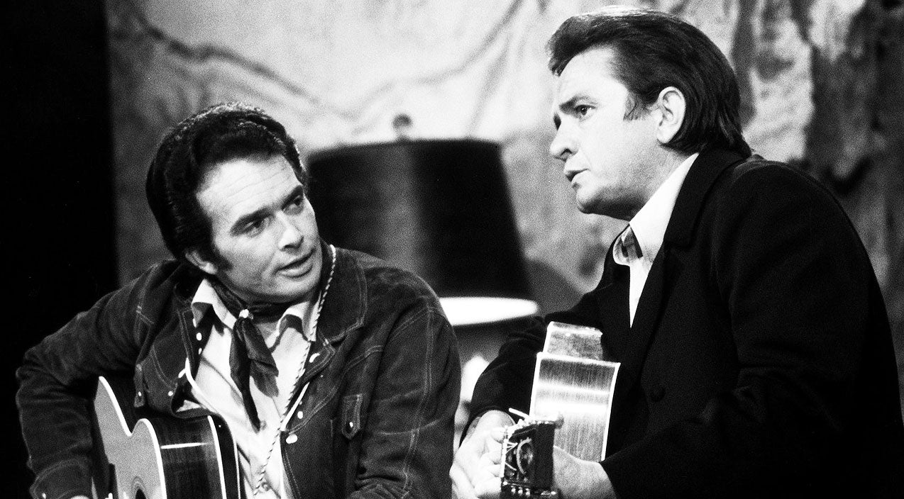 Merle haggard Songs | Merle Haggard Recounts The Unbelievable Moment He First Met Johnny Cash | Country Music Videos