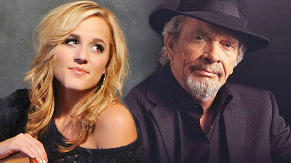 Merle haggard Songs | Merle Haggard Sings with 19 year old Mary Sarah for Debut Album (VIDEO) | Country Music Videos