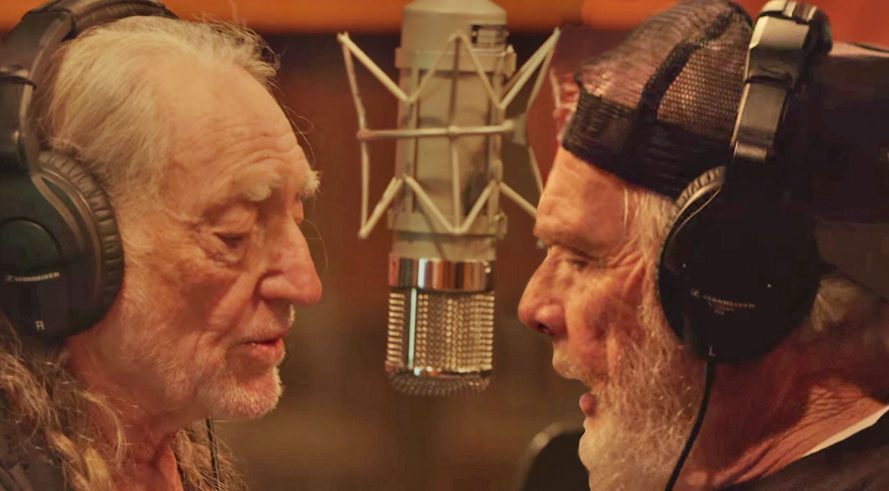 Willie nelson Songs | Incredible Behind The Scenes Footage Of Merle Haggard and Willie Nelson Recording Their New Album | Country Music Videos