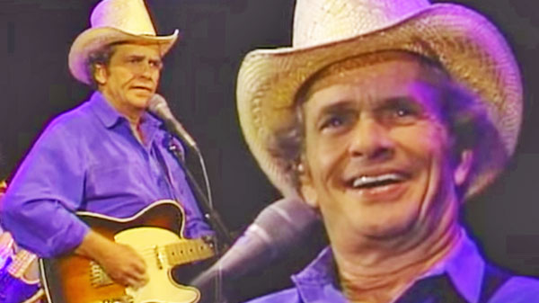 Merle haggard Songs | Merle Haggard - Footlights (LIVE) | Country Music Videos