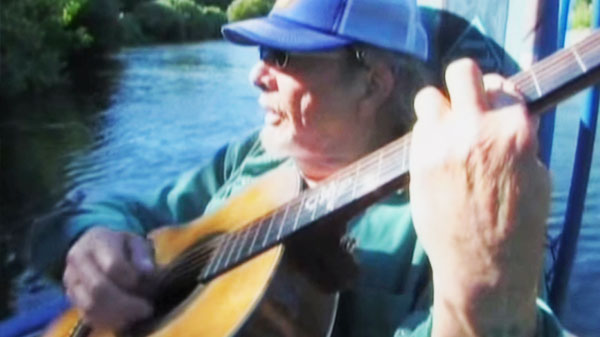Merle haggard Songs | Merle Haggard Fishing With His Son Ben (Rare Acoustic Performance) (WATCH) | Country Music Videos