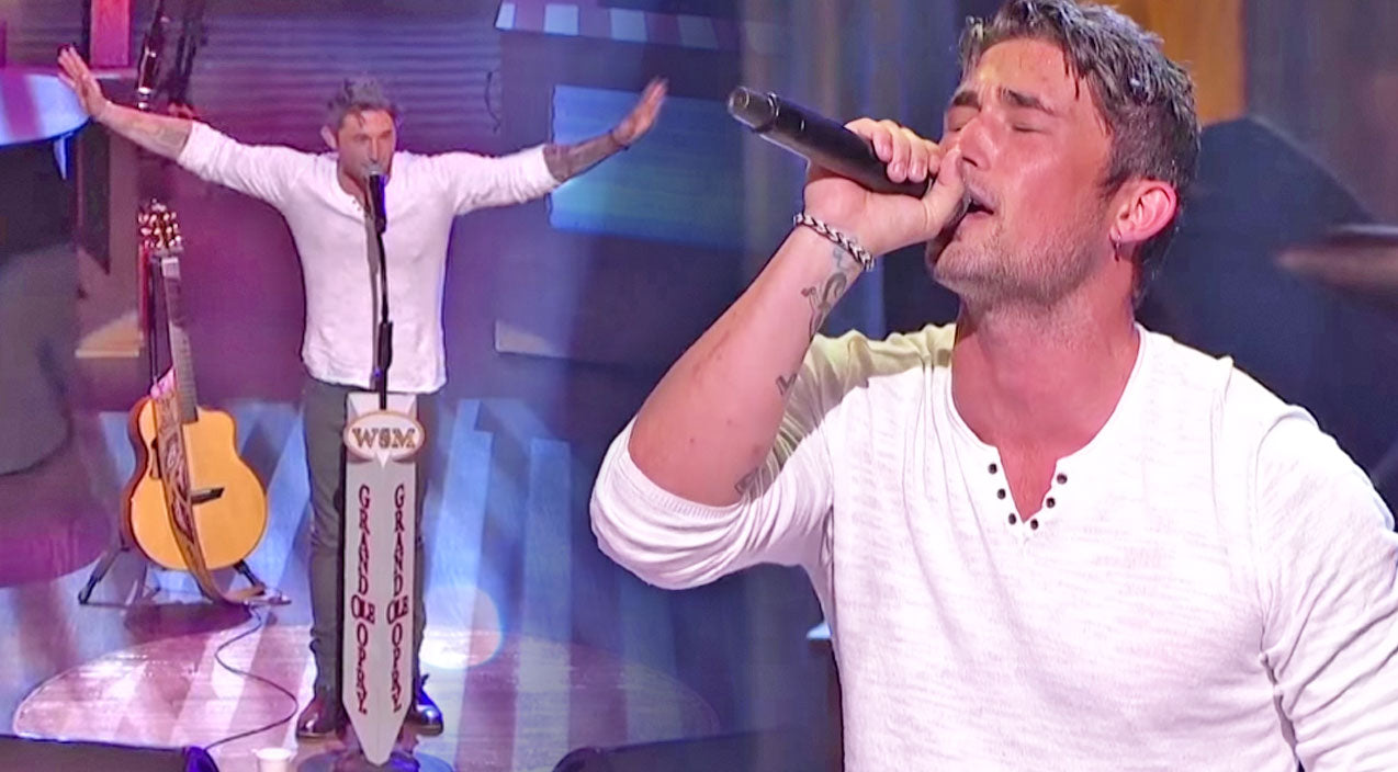 Michael ray Songs | Before His Papa Passed Away, Michael Ray Promised Him He Would Perform At The Grand Ole Opry... And He Did! | Country Music Videos