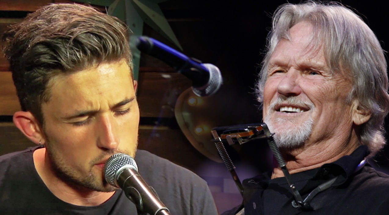 Modern country Songs | Michael Ray Pays Tribute To Kris Kristofferson With Striking Cover Of 'Sunday Mornin' Comin' Down' | Country Music Videos