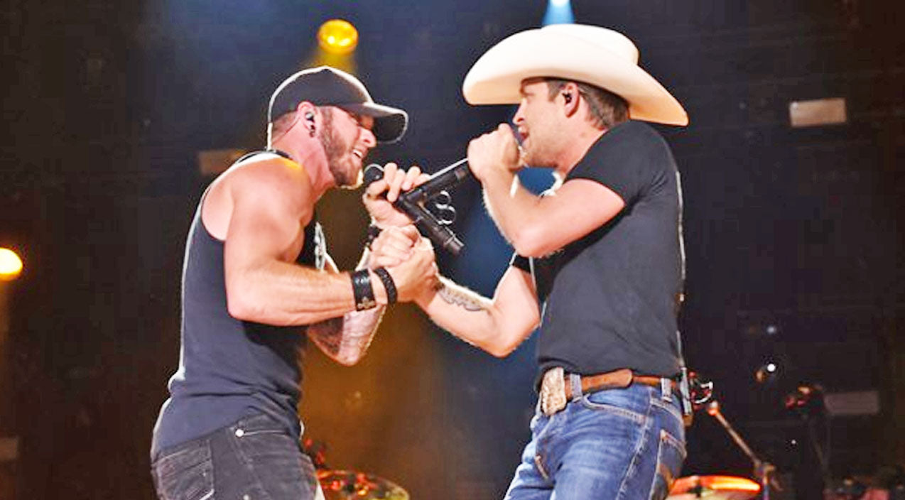 Thomas rhett Songs | Brantley Gilbert & Justin Moore Attack Political Correctness In 'More Middle Fingers' | Country Music Videos