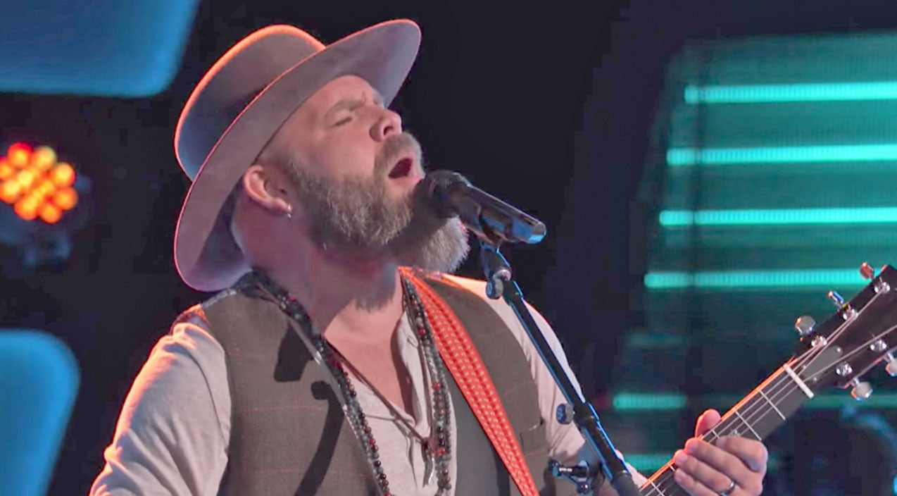 The voice Songs | Nashville Native Unleashes Soulful 'Midnight Rider' Audition | Country Music Videos