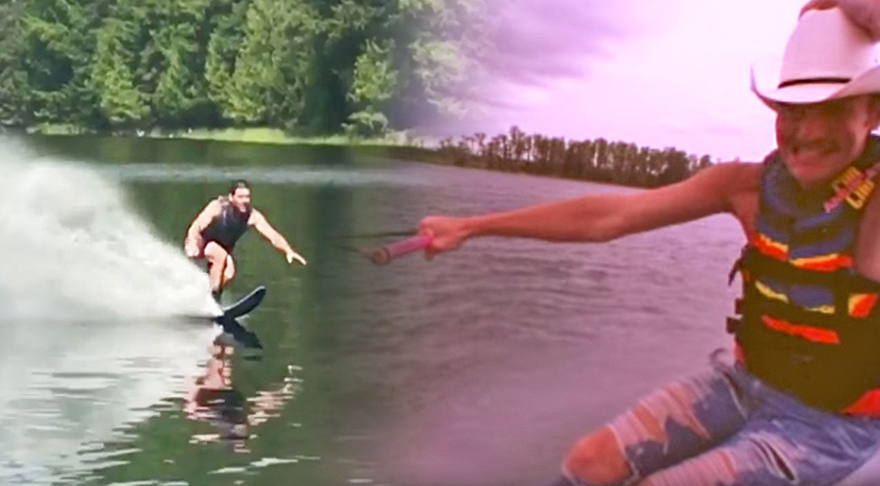Alan jackson Songs | Mike Fisher Channels Alan Jackson In Epic Water Skiing Video | Country Music Videos