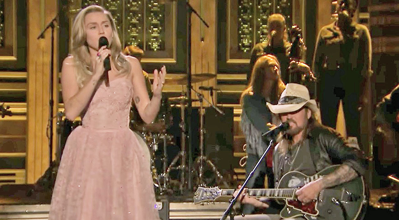 Tom petty Songs | Miley & Billy Ray Cyrus Honor Tom Petty Through Enchanting Cover Of 'Wildflowers' | Country Music Videos