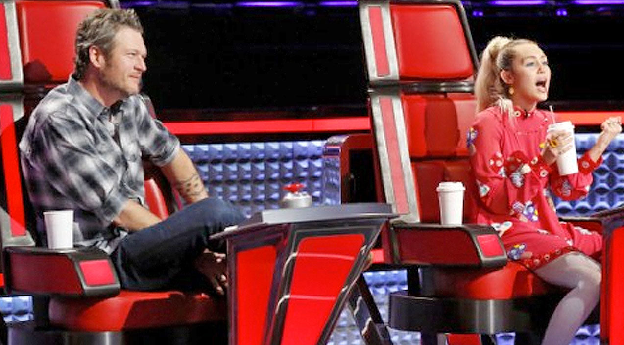 The voice Songs | Blake Shelton Reveals Secret To Keeping Miley Cyrus In Check On 'The Voice' | Country Music Videos