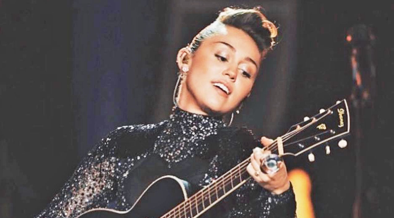Miley cyrus Songs   Prepare To Be Amazed By Miley Cyrus' 'Boots Are Made For Walkin'' Cover   Country Music Videos