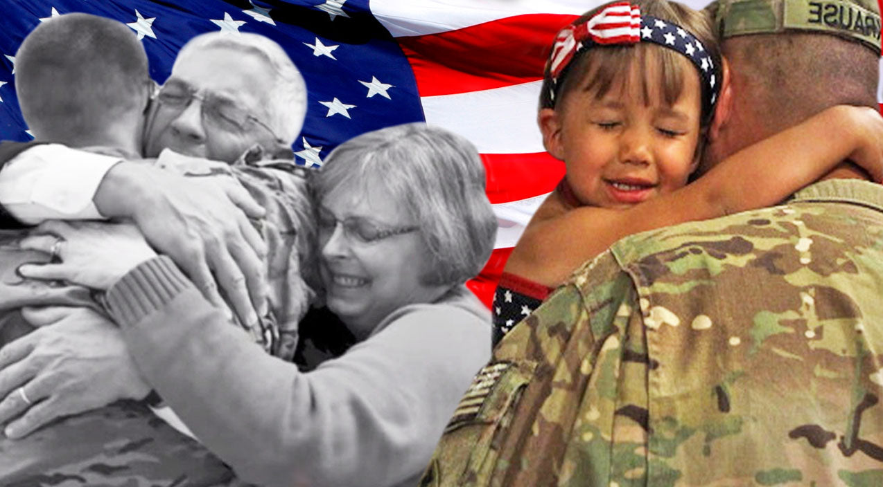 Emotional Compilation Of Military Families Reuniting Will Leave You In Tears (Must-See!) | Country Music Videos