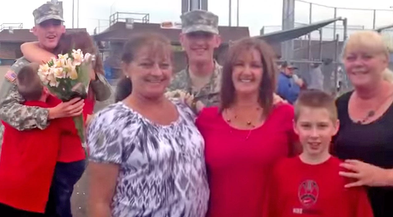Military Songs | He Wanted To Surprise His Mom And It Was A Success | Country Music Videos