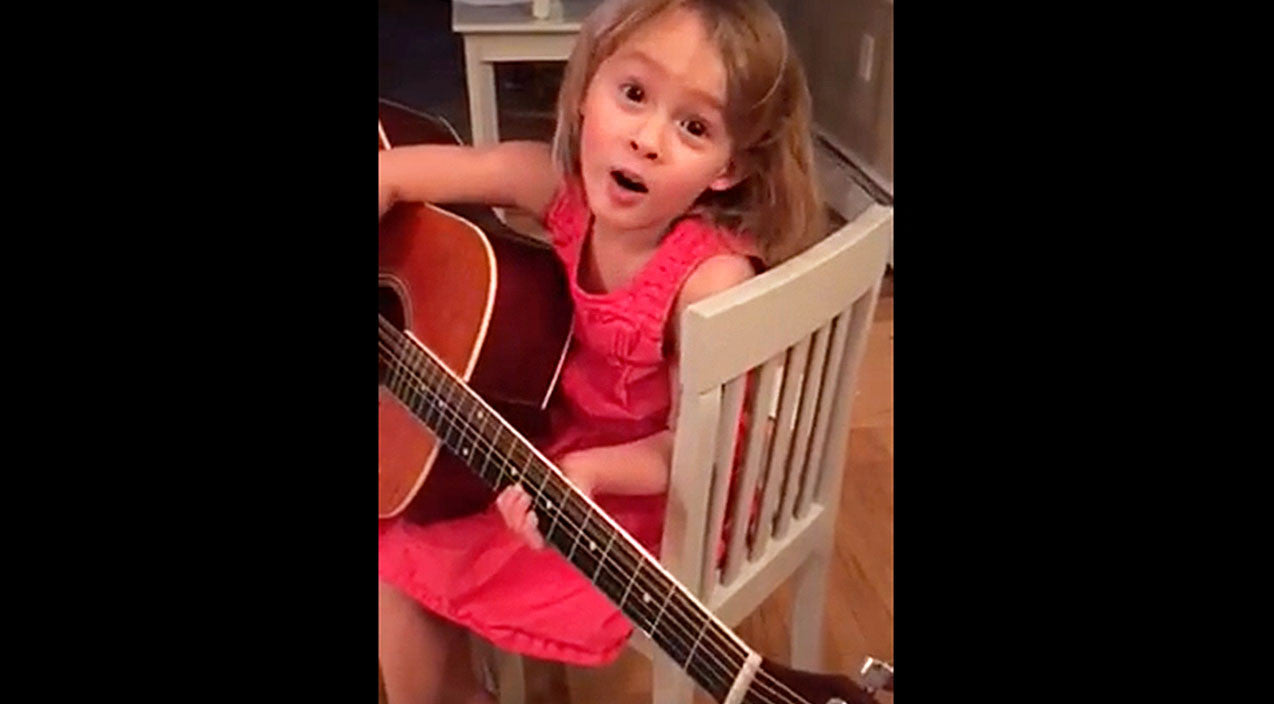 Modern country Songs   4-Year-Old Will Cure Your Heartache With Adorable Miranda Lambert Cover   Country Music Videos