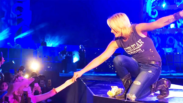 Miranda lambert Songs | Little Girl Brings Miranda Lambert To Tears During An Emotional Performance Of 'Over You' | Country Music Videos