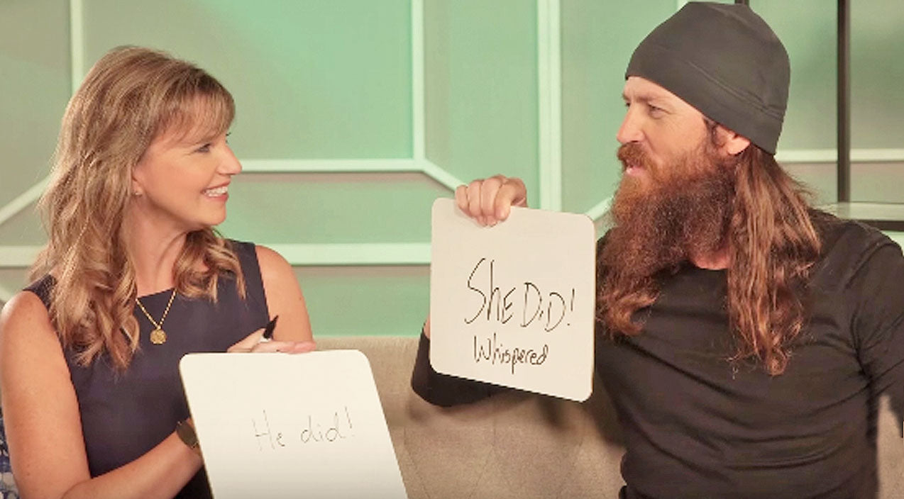 Missy robertson Songs | Watch Missy And Jase Robertson's Epic Fail While Playing The Newlywed Game | Country Music Videos