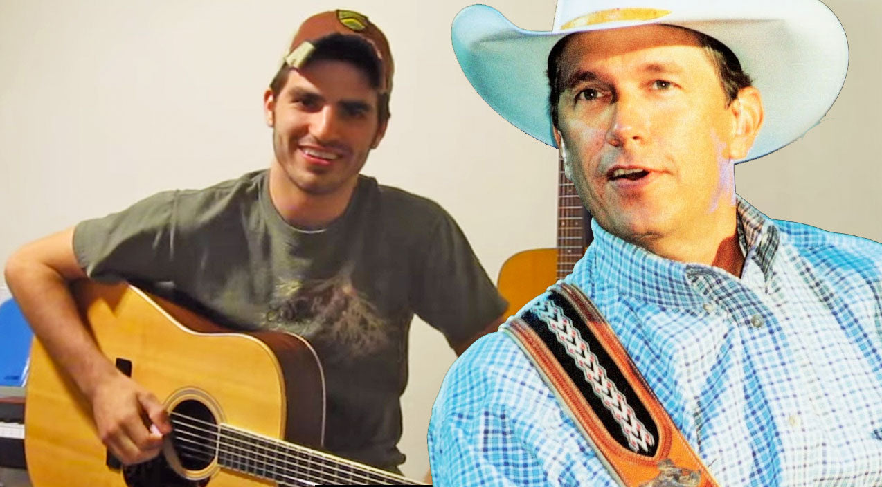 George strait Songs | Aspiring Country Artist, Mitch Rossell Covers George Strait's