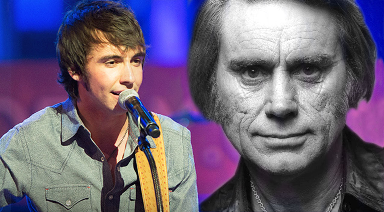 Mo pitney Songs | Country Newcomer Mo Pitney Delivers Inspiring Rendition Of George Jones Classic | Country Music Videos