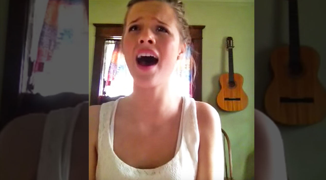 videos tagged viral content country rebel young girl moves viewers to tears original song about god s love