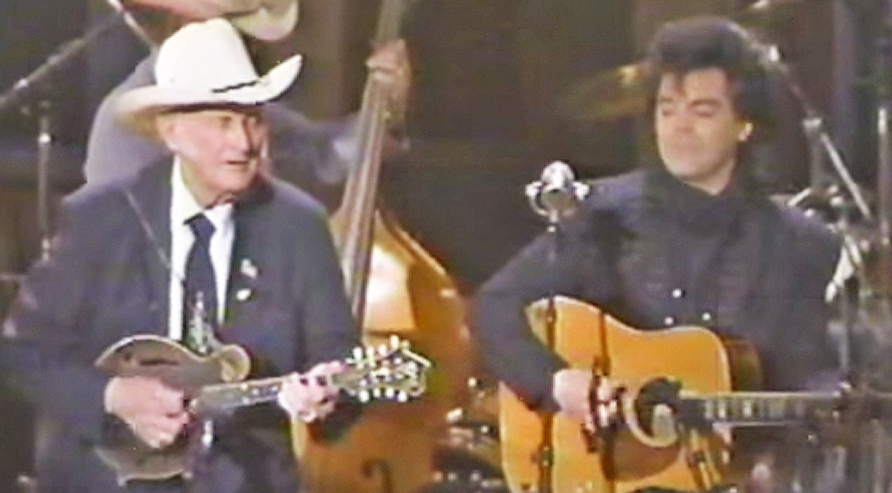 Marty stuart Songs | Marty Stuart Joins Bill Monroe For Knee Slappin', Toe Tappin' Performance Of 'Southern Flavor' | Country Music Videos