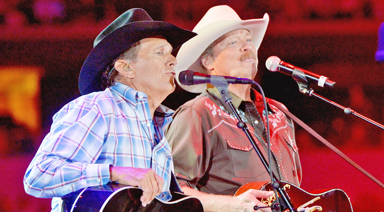 George strait Songs   George Strait & Alan Jackson Thrill Fans With 'Murder On Music Row' One Last Time   Country Music Videos
