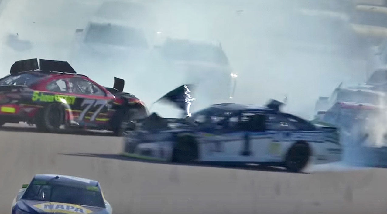 Nascar Songs | Massive NASCAR Crash Takes Out Multiple Drivers | Country Music Videos