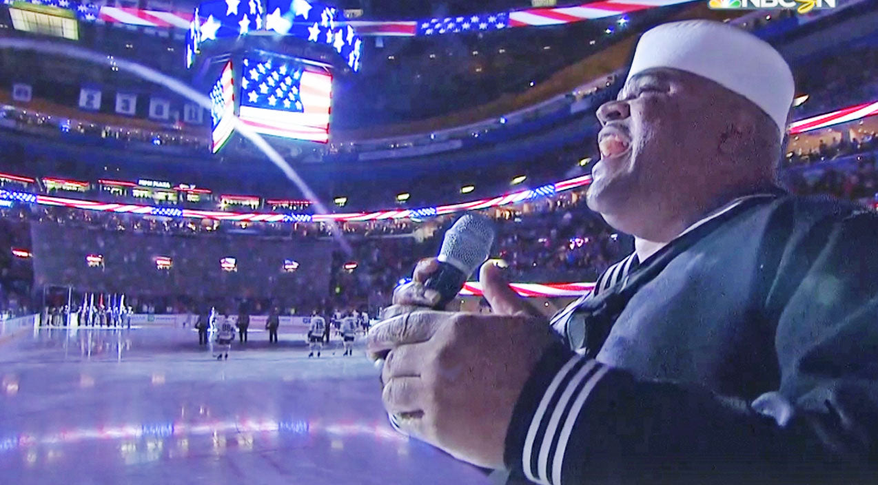 Explosive National Anthem Sung Before NHL Game Will Make You Proud To Be An American | Country Music Videos