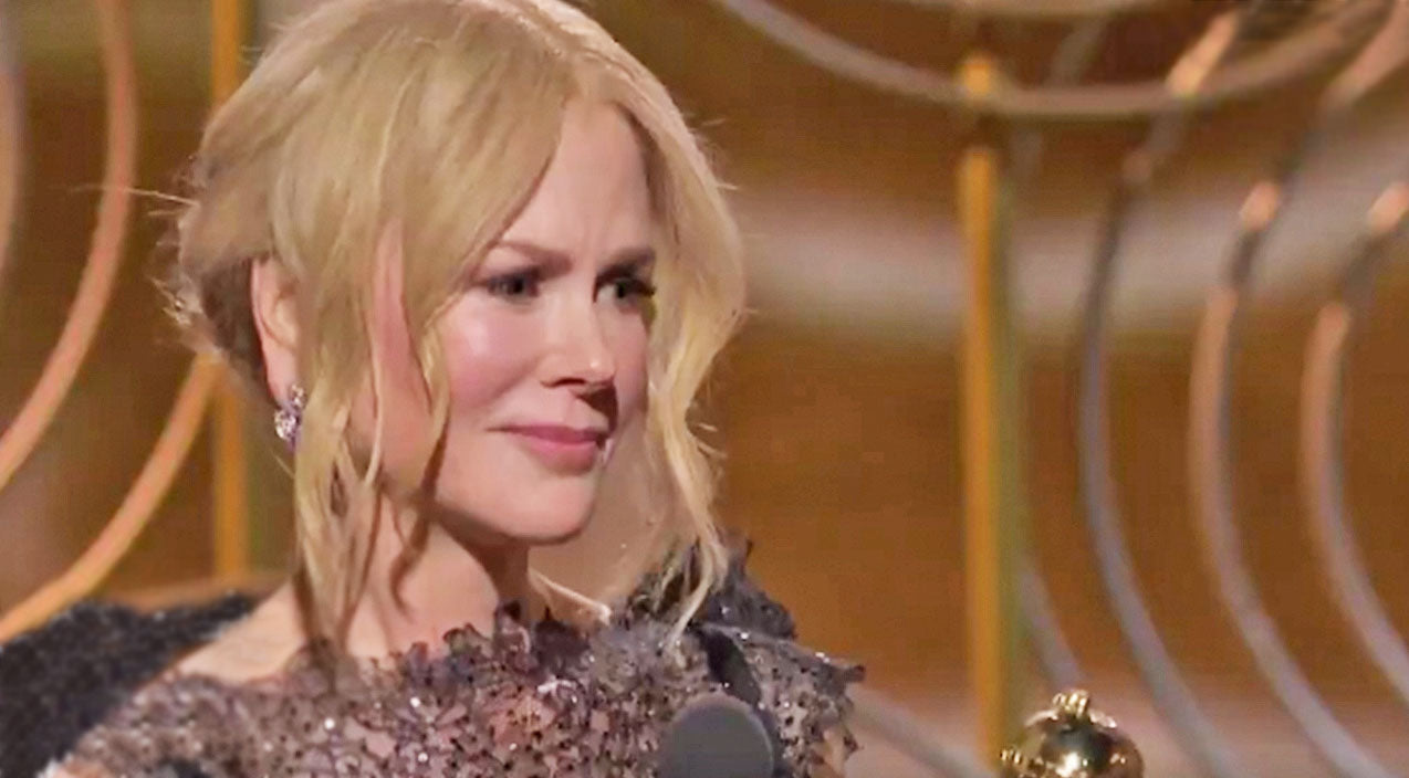 Nicole Kidman Gave a Shout Out to the Womens Movement (and Husband Keith Urban!) in Her Golden Globes Acceptance Speech