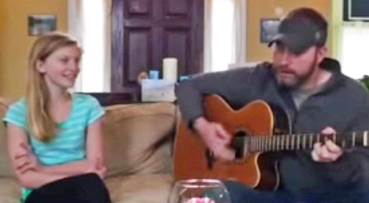 Keith whitley Songs | Father & Daughter Sing The Sweetest Duet Of 'When You Say Nothing At All' | Country Music Videos