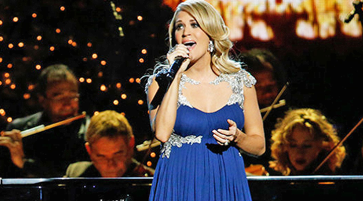 Carrie underwood Songs | Carrie Underwood Performs Heavenly Rendition Of 'O Holy Night' | Country Music Videos