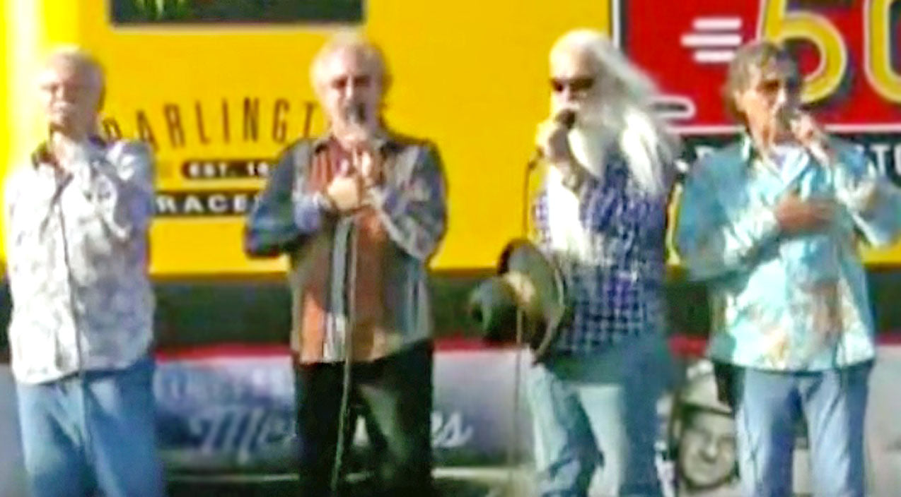 Oak ridge boys Songs | The Oak Ridge Boys Bring Brilliant Harmonies To Performance Of The National Anthem | Country Music Videos