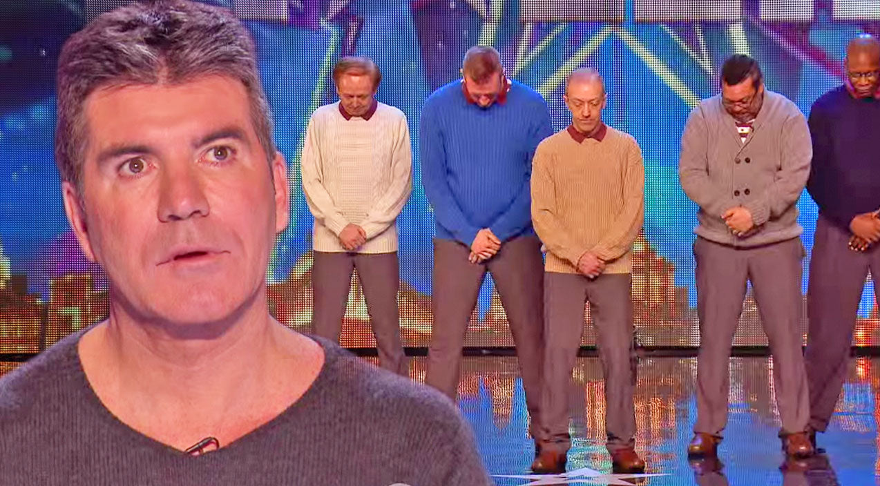 Simon cowell Songs | Simon Cowell Can't Believe What He Sees When These 5 Old Men Start Dancing | Country Music Videos
