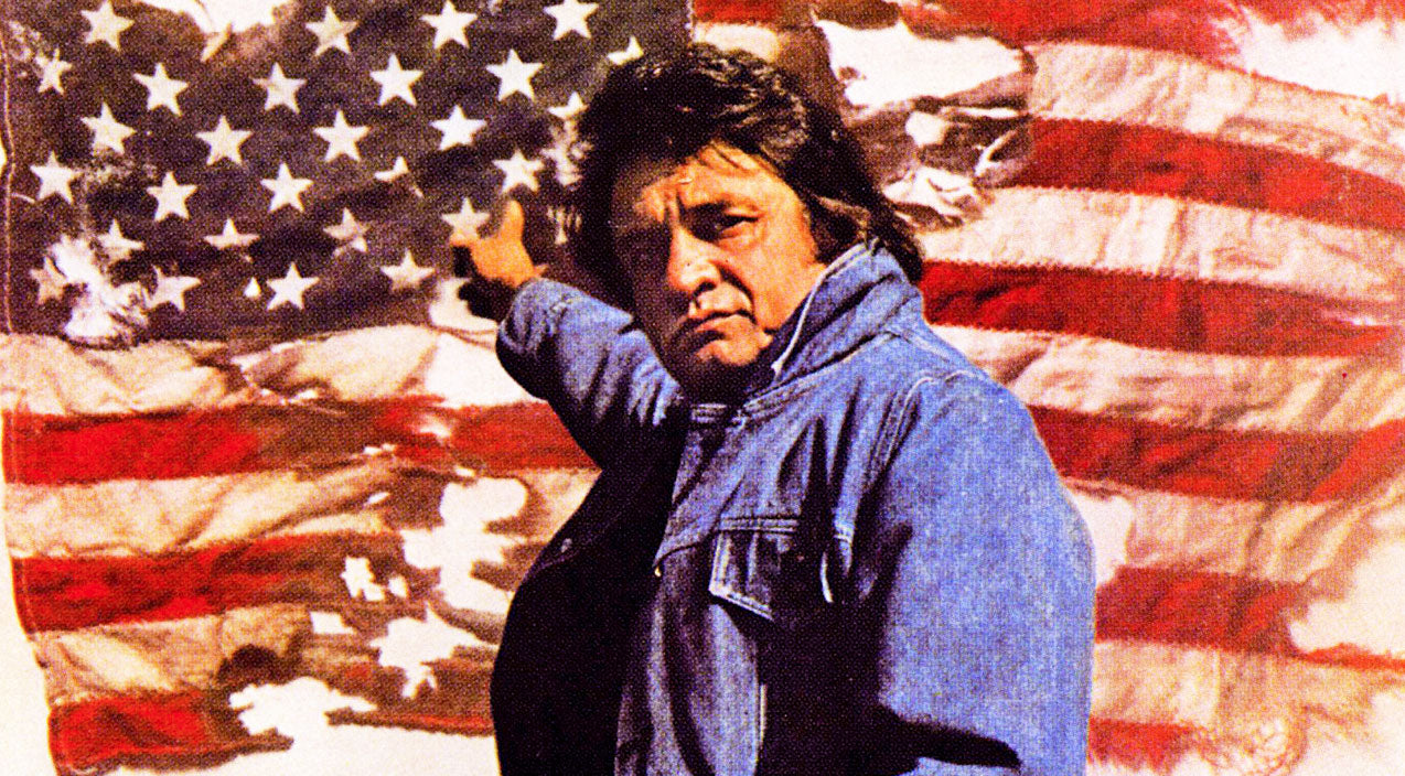 Johnny cash Songs | Johnny Cash Shows Patriotism And Respect For Old Glory In 'Old Ragged Flag' | Country Music Videos