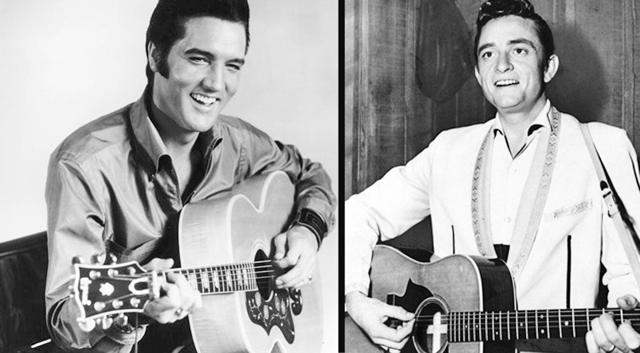 Johnny cash Songs | Johnny Cash Throws Out His Back During Hysterical Elvis Impersonation | Country Music Videos