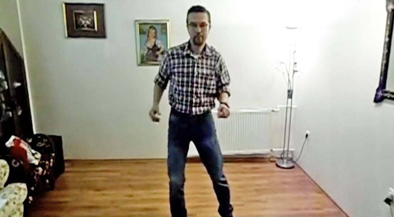 Line dance Songs | Cowboy Seriously Struts His Stuff In Solo Line Dance To Conway Twitty's 'Tight Fittin' Jeans' | Country Music Videos