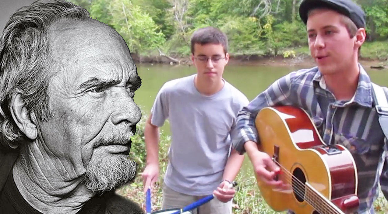 Merle haggard Songs | Two Young Brothers Sing and Dance To Merle Haggard's