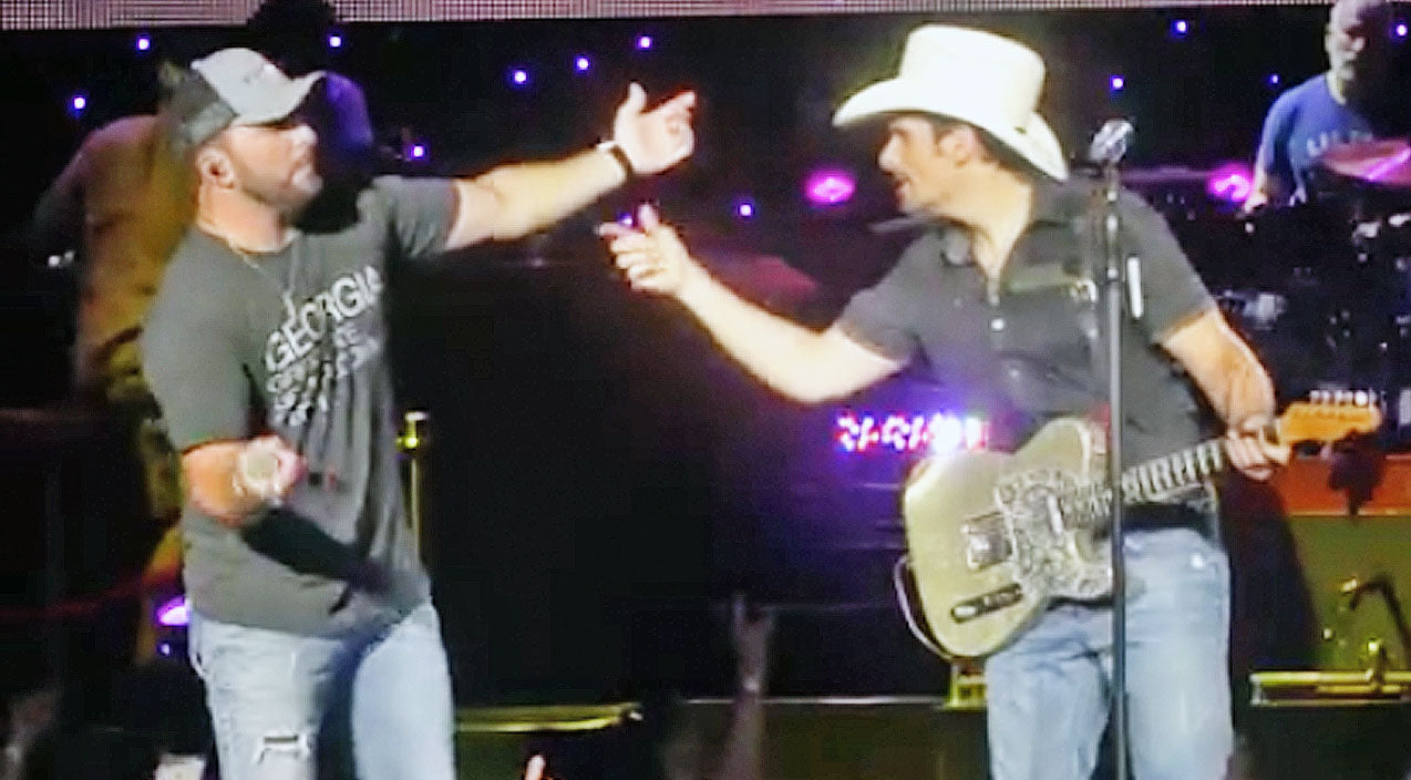 Tyler farr Songs | Brad Paisley Forgets Tyler Farr's Name On Stage | Country Music Videos