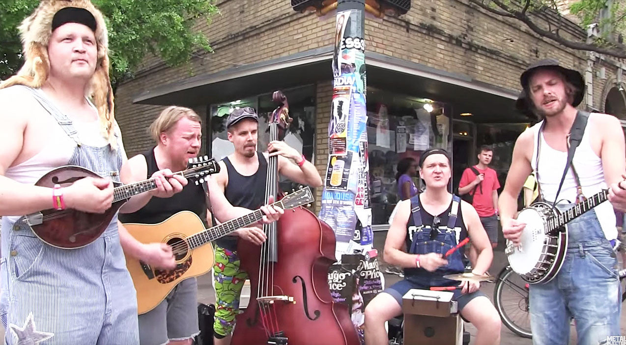 Viral content Songs | Bluegrass Band Gives Epic Twist To Guns 'N Roses' 'Paradise City' | Country Music Videos