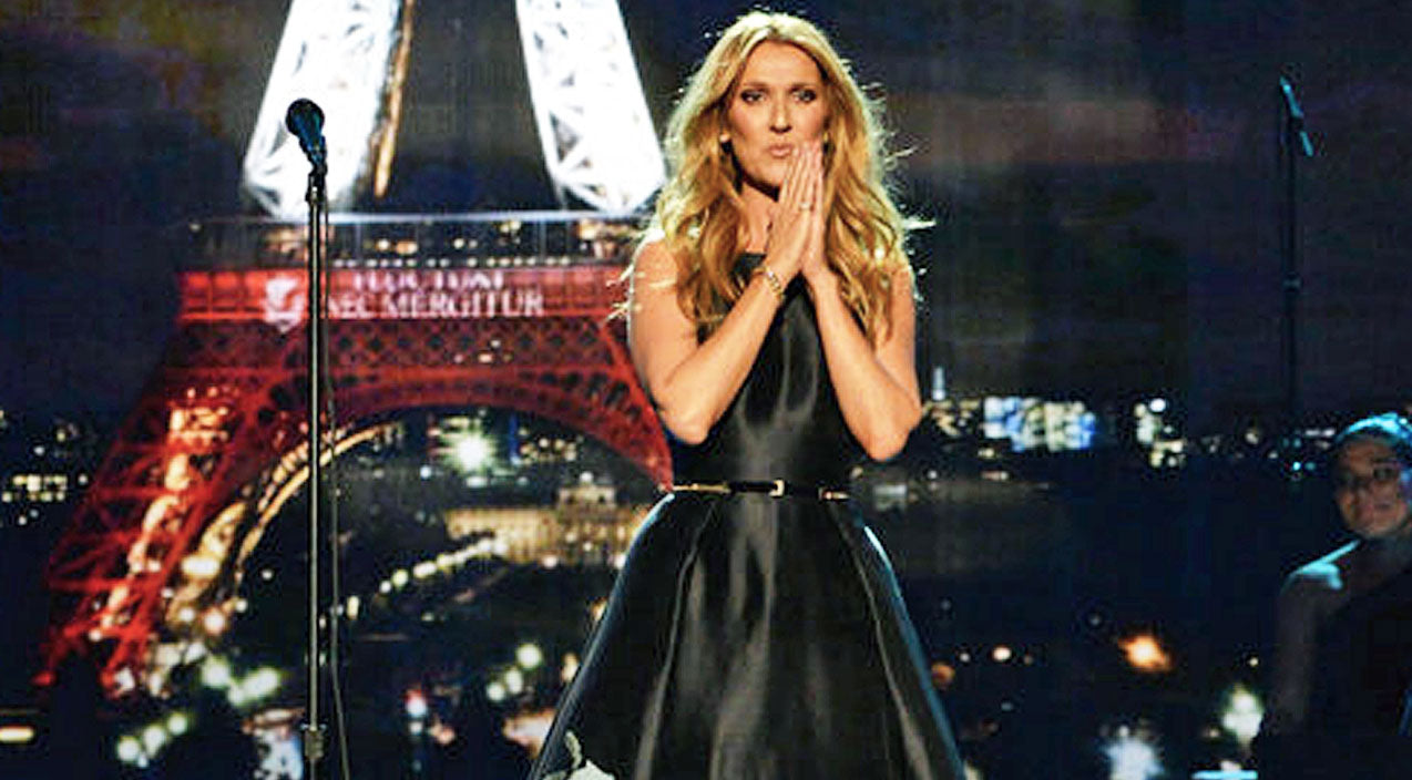 Emotional Tribute To Paris Victims Leaves AMA Crowd In Tears | Country Music Videos