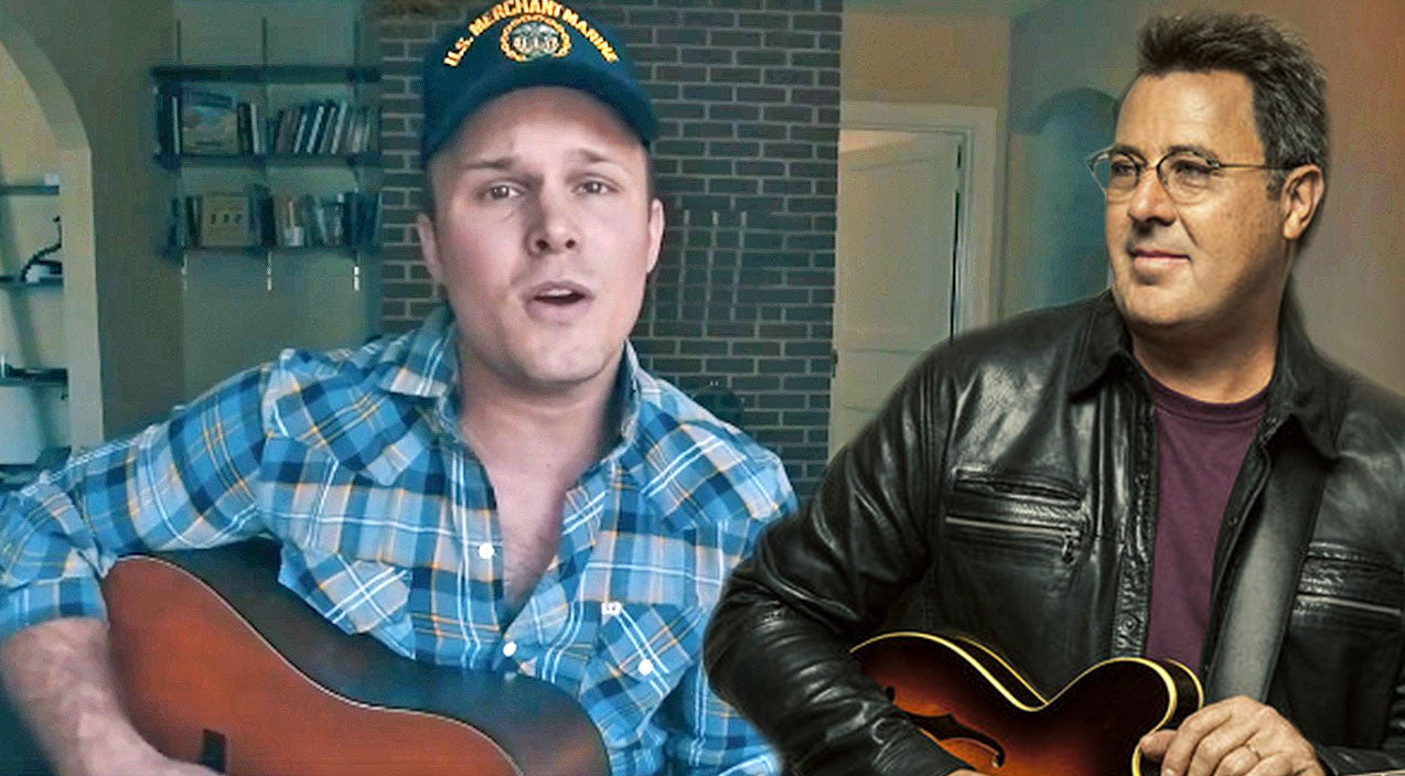 Vince gill Songs | Handsome Cowboy Emotionally Honors Late Grandfather In Chilling Vince Gill Ballad | Country Music Videos