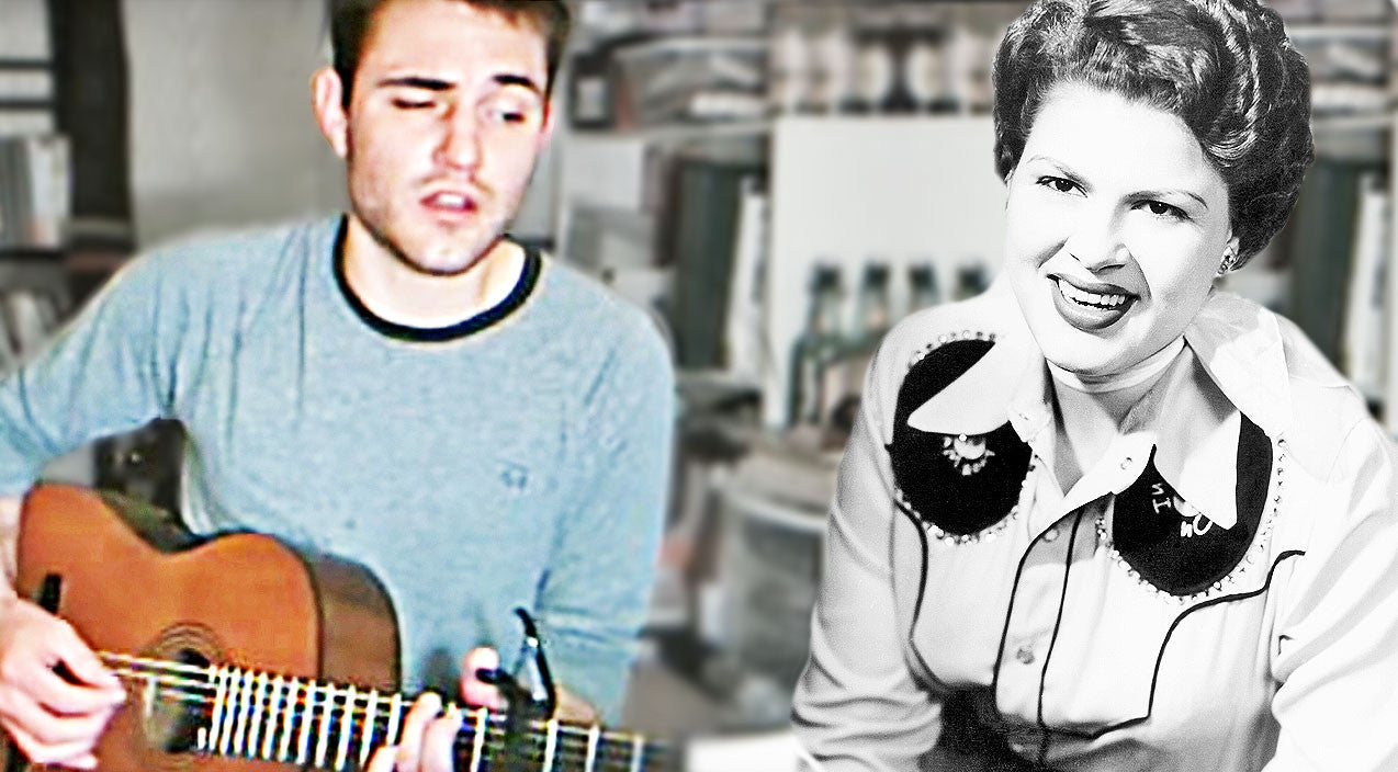 Willie nelson Songs | Talented Heartthrob Gives Bone-Chilling Twist To Patsy Cline's 'Crazy' | Country Music Videos