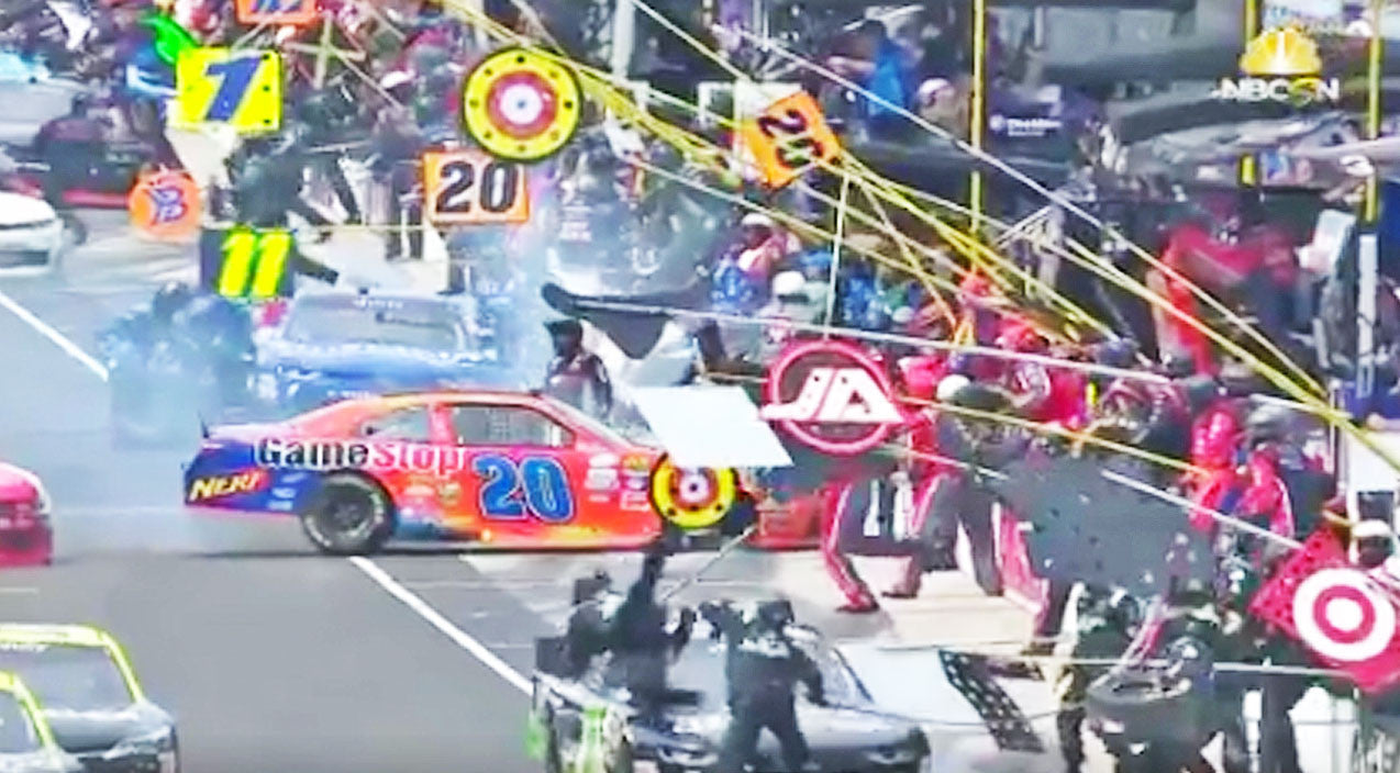 Nascar Songs | NASCAR Driver Hits Crew Members During Horrifying Pit Stop | Country Music Videos