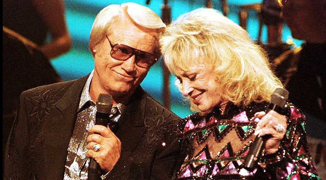 Tammy wynette Songs | The Eyes Don't Lie: George Jones and Tammy Wynette Sing Affectionate Duet | Country Music Videos